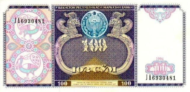 100 сум 2001 амир темур альбом для наборов монет