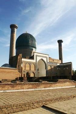 Мавзолей Гур-Эмир, где похоронены Тимур, его сыновья и внуки, в том числе Улугбек.Фото: Снежана Шабанова