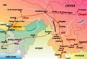 карта шелк путь